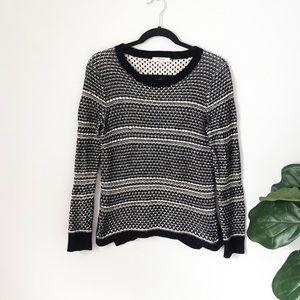 🌵Madewell Black & White Sweater